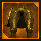 Gold Plated Greaves Icon.png