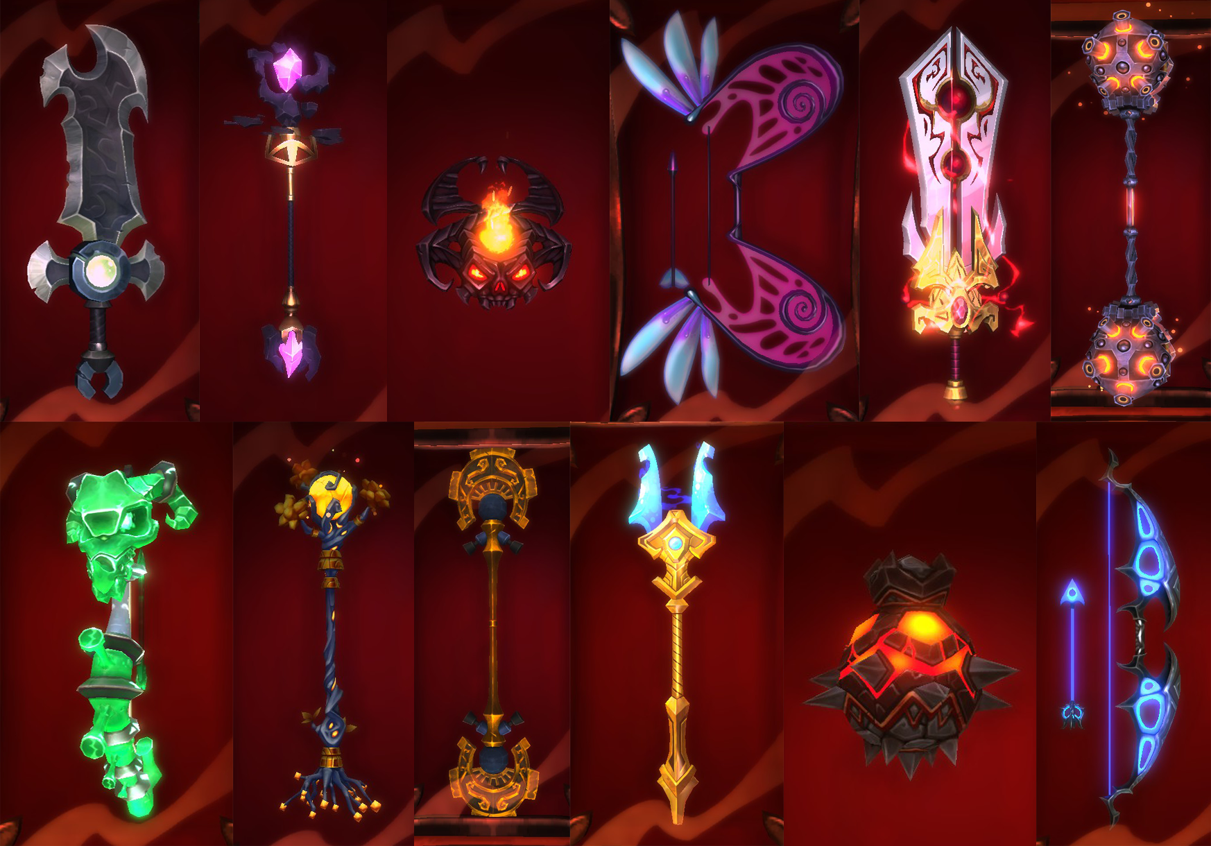 Weapons - Dungeon Defenders 2 Wiki